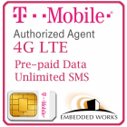 Unlimited 128kbps monthly for 12 months SIM Data Plan--T-Mobile (USA)