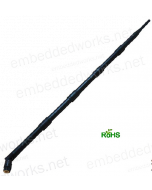 Embedded Works EW-915-8-RA Indoor Dipole (Rubber Duck) 915 MHz - LoRA Antenna