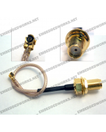 Embedded Works EW-CA22 RF Cable Assembly U.FL (IPEX/MHF/MHF2) to SMA