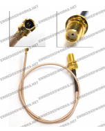 Embedded Works EW-CA24 RF Cable Assembly U.FL (IPEX/MHF/MHF2) to SMA