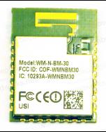 USI WM-N-BM-30 802.11bgn Smart Wi-IoT Module | Broadcom BCM43362 + STM32F411