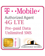 500MB per month monthly for 3 months SIM Data Plan--T-Mobile (USA)