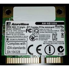 Azurewave AW-NB100H WLAN 802.11n/b/g + Bluetooth 3.0HS&4.0