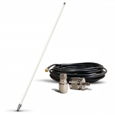 915 MHz/8 dBi Gain Omni LoRa Antenna & Cable Bundle | Great for Helium Hotspots!