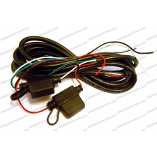 CalAmp 5C888 Power Harness, 4-pin, 4-Wire with Fuse, 8 ft