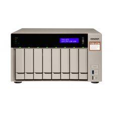 QNAP TVS-873e-8G-US AMD® R-Series RX-421BD  Tower