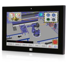 IEI AFL3-W10A-BT-J1/PC/2G-R13 Intel® Celeron® Processor J1900 Touch Panel PC