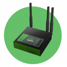 InHand IR301-FQ02-W 4G LTE Compact Industrial LTE Router