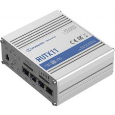 Teltonika RUTX11 4G LTE Cat 6 Industrial Cellular Gateway/Router | Dual SIM, Wi-Fi, GNSS, and Bluetooth
