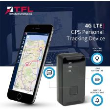 TFL 4G LTE Personal GPS Tracking Device | SOS or Panic Button for Locating Children, Elderly, Vehicles, Bicycles, and Electric Mobility Vehicles