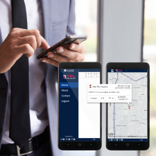 TFL Teams Work@Home Android Phone with built-in GPS Field Personnel Time Clock Services