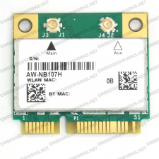 AzureWave AW-NB107H 802.11bgn + Bluetooth PCI Express Mini Card (Half) | Broadcom BCM43142