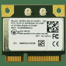 SparkLAN WPEQ-261ACNI(BT) 802.11ac/abgn + BT PCI Express Mini Card (Half)