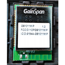 GainSpan GS1011MIP Low Power Wi-Fi with Internal PA PCB Trace Antenna