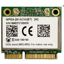 SparkLAN WPEA-251ACNI(BT) 802.11ac/abgn + BT mPCIe (Half Size)