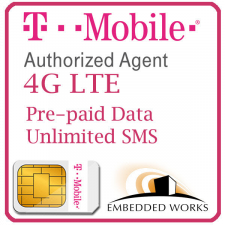 Unlimited 128kbps monthly for 12 months SIM Data Plan--T-Mobile (USA) | No Voice/SMS