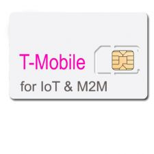 1GB per month prepaid for 6 months IoT Data Plan with SIM --T-Mobile  (North America)