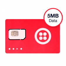 Twilio Super SIM IoT North America Plan 5MB | 3-Months Pay-As-You-Go